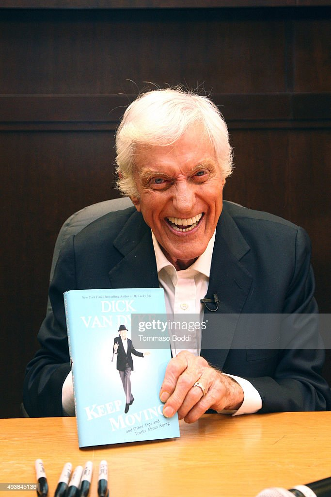 "Dick Van Dyke Book Signing And Conversation With Tom Bergeron For ""Keep Moving"""