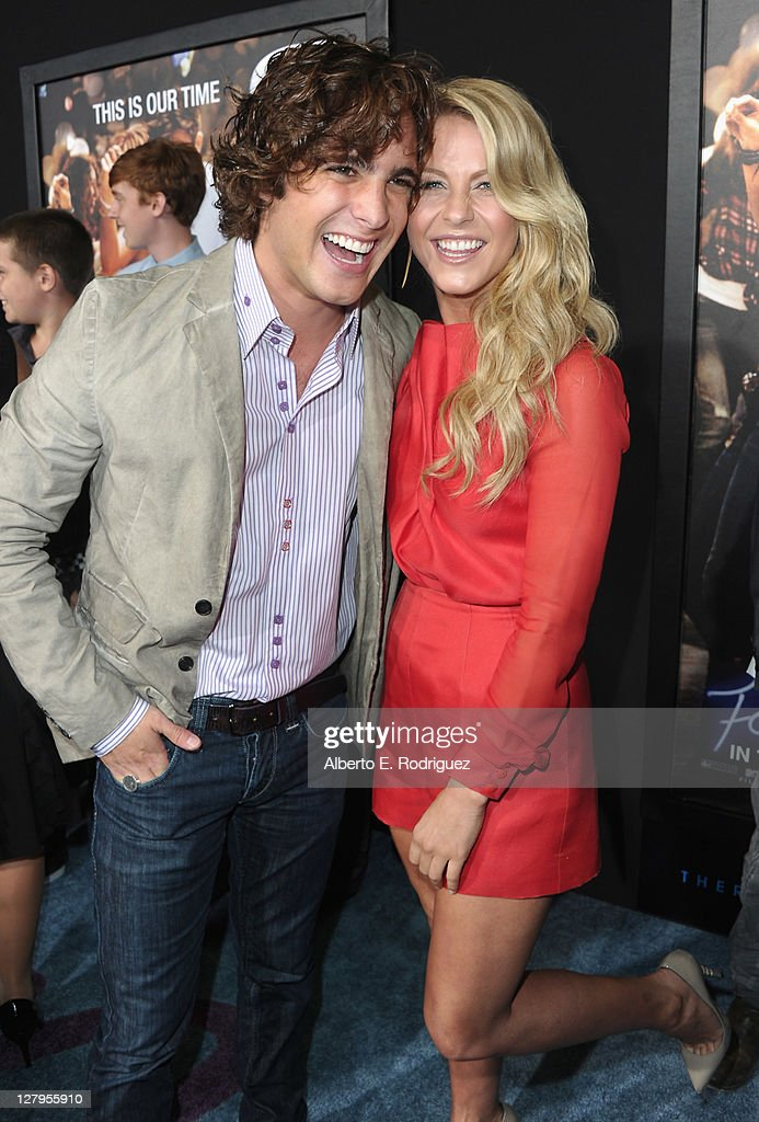 Actor Diego Boneta And Actress Julianne Hough Arrive To The