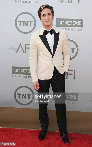 Actor Diego Boneta arrives at the 2014 AFI Life Achievement Award Gala Tribute at Dolby Theatre on June 5 2014 in Hollywood California