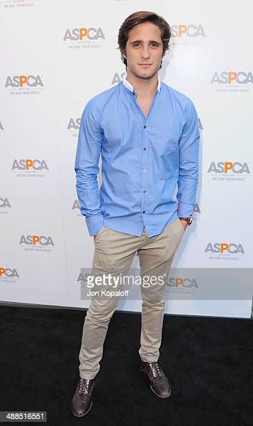Actor Diego Boneta arrives at The American Society For The Prevention Of Cruelty To Animals Celebrity Cocktail Party on May 6 2014 in Beverly Hills...