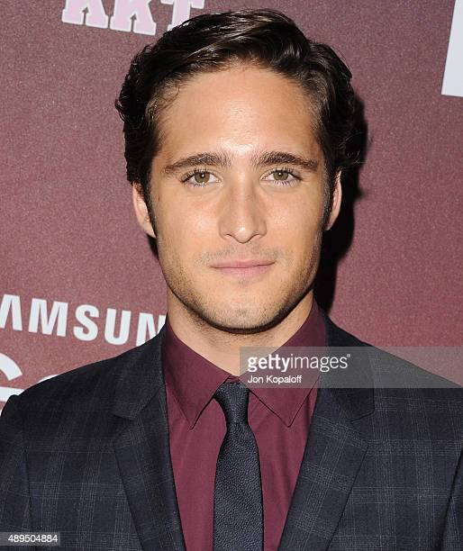 Actor Diego Boneta arrives at the Premiere Of FOX TV's 'Scream Queens' at The Wilshire Ebell Theatre on September 21 2015 in Los Angeles California