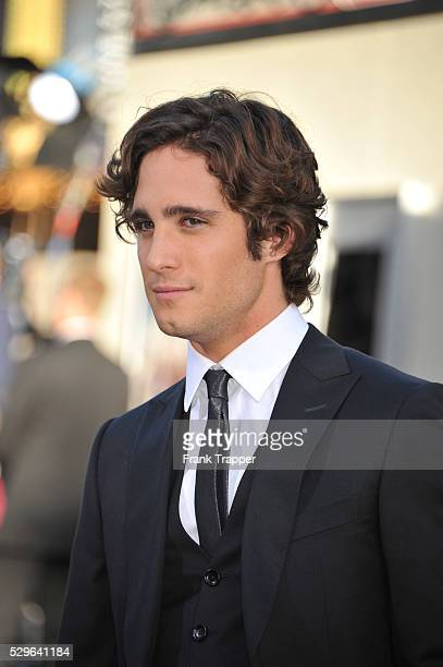 Actor Diego Boneta arrives at the world premiere of Rock of Ages held at Grauman's Chinese Theater in Hollywood