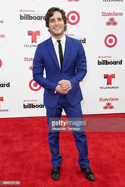 Actor Diego Boneta attends the 2014 Billboard Latin Music Awards at Bank United Center on April 24 2014 in Miami Florida