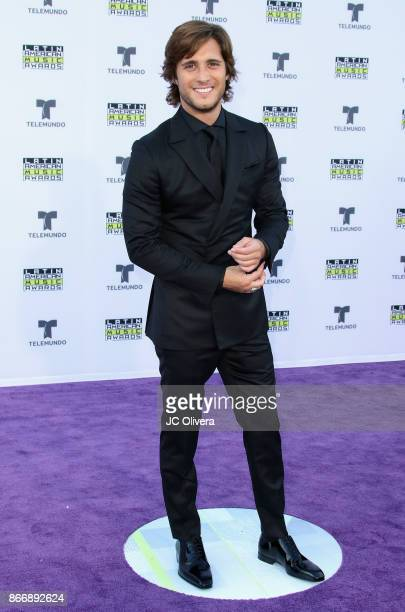 Actor Diego Boneta attends The 2017 Latin American Music Awards at Dolby Theatre on October 26 2017 in Hollywood California