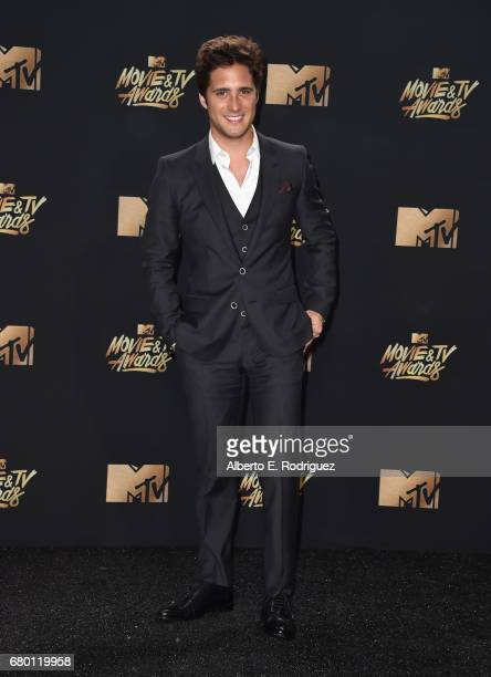 Actor Diego Boneta attends the 2017 MTV Movie And TV Awards at The Shrine Auditorium on May 7 2017 in Los Angeles California