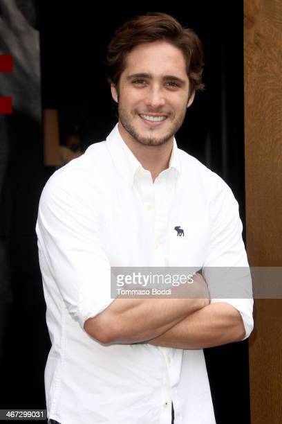 Actor Diego Boneta attends the Abercrombie Fitch''s the making of a star spring 2014 campaign held at Abercrombie Fitch on February 6 2014 in Los...