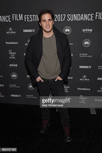 Actor Diego Boneta attends the 'Lemon' Premiere on day 4 of the 2017 Sundance Film Festival at Library Center Theater on January 22 2017 in Park City...