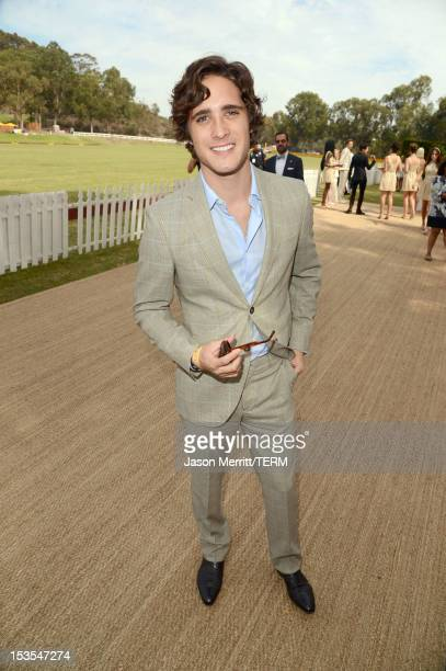 Actor Diego Boneta attends the Third Annual Veuve Clicquot Polo Classic at Will Rogers State Historic Park on October 6 2012 in Pacific Palisades...