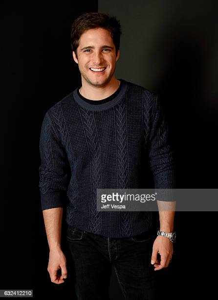 Actor Diego Boneta from the film Before I Fall poses for a portrait in the WireImage Portrait Studio presented by DIRECTV during the 2017 Sundance...