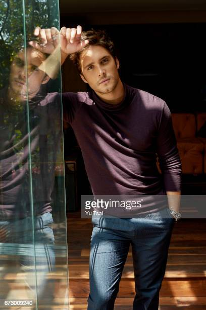 Actor Diego Boneta is photographed for Vanity Fair Mexico on August 3 2016 in Mexico City Mexico Published Image