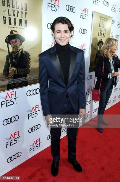 Actor Diego Josef attends AFI Fest's Los Angeles premiere of The Ballad Of Lefty Brown on November 14 2017 in Los Angeles California