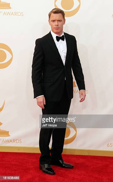 Actor Diego Klattenhoff arrives at the 65th Annual Primetime Emmy Awards held at Nokia Theatre LA Live on September 22 2013 in Los Angeles California