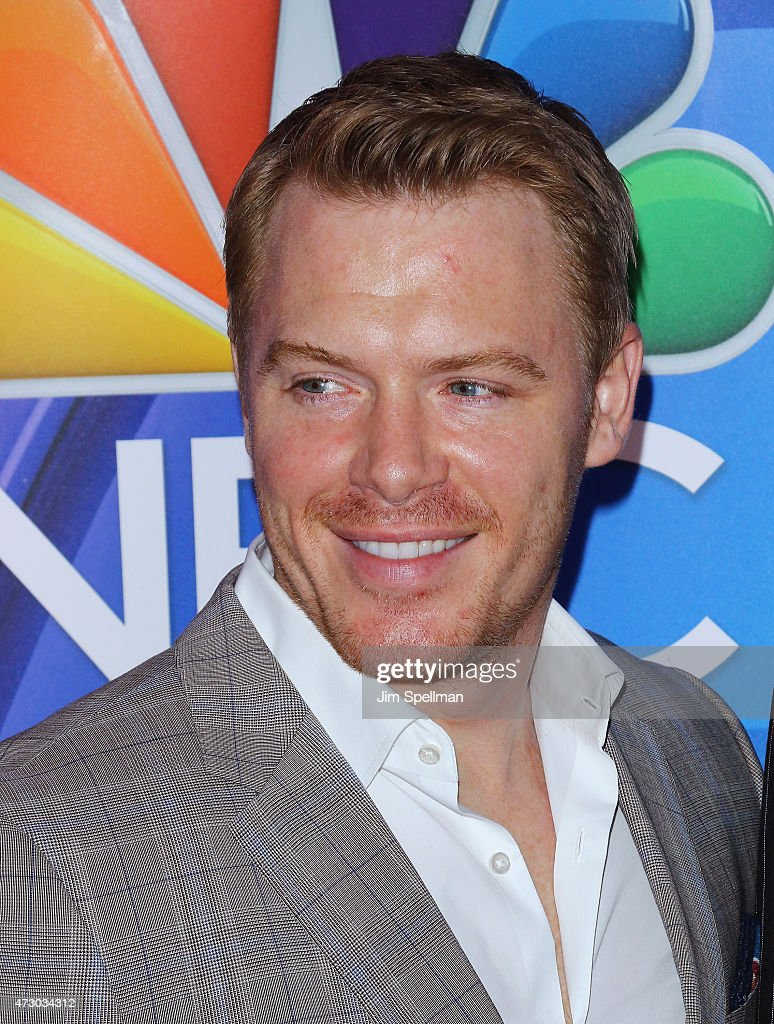Actor Diego Klattenhoff attends the 2015 NBC upfront presentation red carpet event at Radio City Music Hall on May 11, 2015 in New York City.