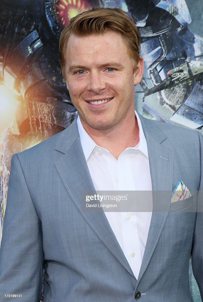Actor Diego Klattenhoff attends the premiere of Warner Bros. Pictures and Legendary Pictures' 'Pacific Rim' at the Dolby Theatre on July 9, 2013 in Hollywood, California.
