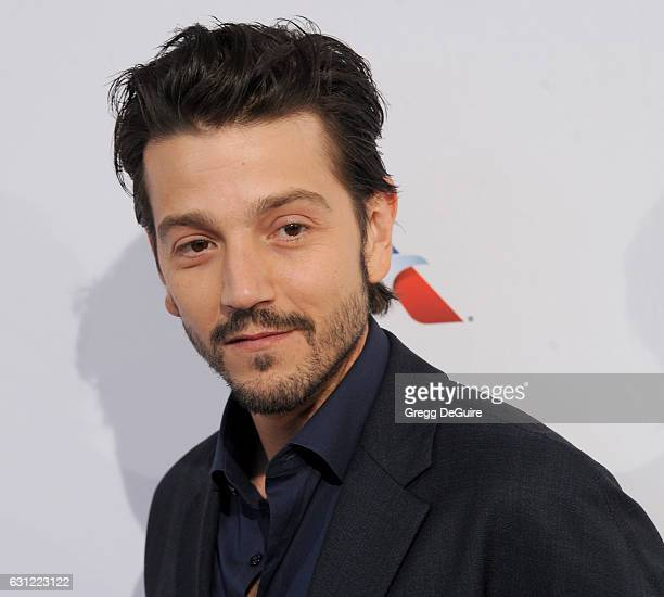 Actor Diego Luna arrives at The BAFTA Tea Party at Four Seasons Hotel Los Angeles at Beverly Hills on January 7 2017 in Los Angeles California