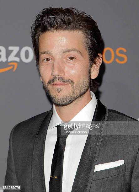 Actor Diego Luna attends Amazon Studios Golden Globes Party at The Beverly Hilton Hotel on January 8 2017 in Beverly Hills California