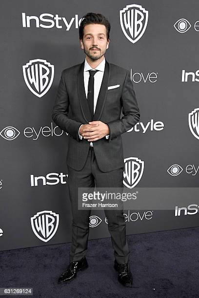 Actor Diego Luna attends the 18th Annual PostGolden Globes Party hosted by Warner Bros Pictures and InStyle at The Beverly Hilton Hotel on January 8...