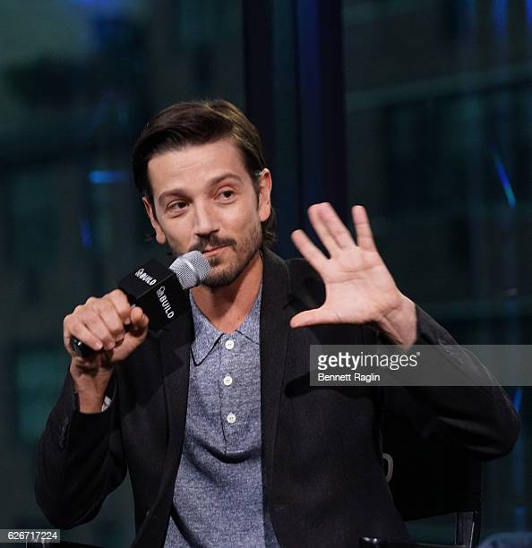 Actor Diego Luna attends the AOL Build series at AOL HQ on November 30 2016 in New York City