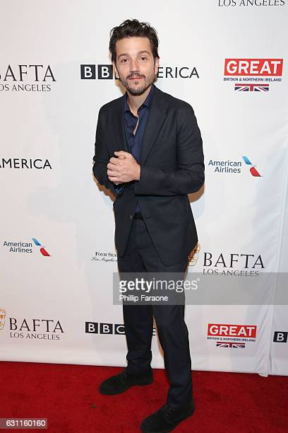 Actor Diego Luna attends The BAFTA Tea Party at Four Seasons Hotel Los Angeles at Beverly Hills on January 7 2017 in Los Angeles California