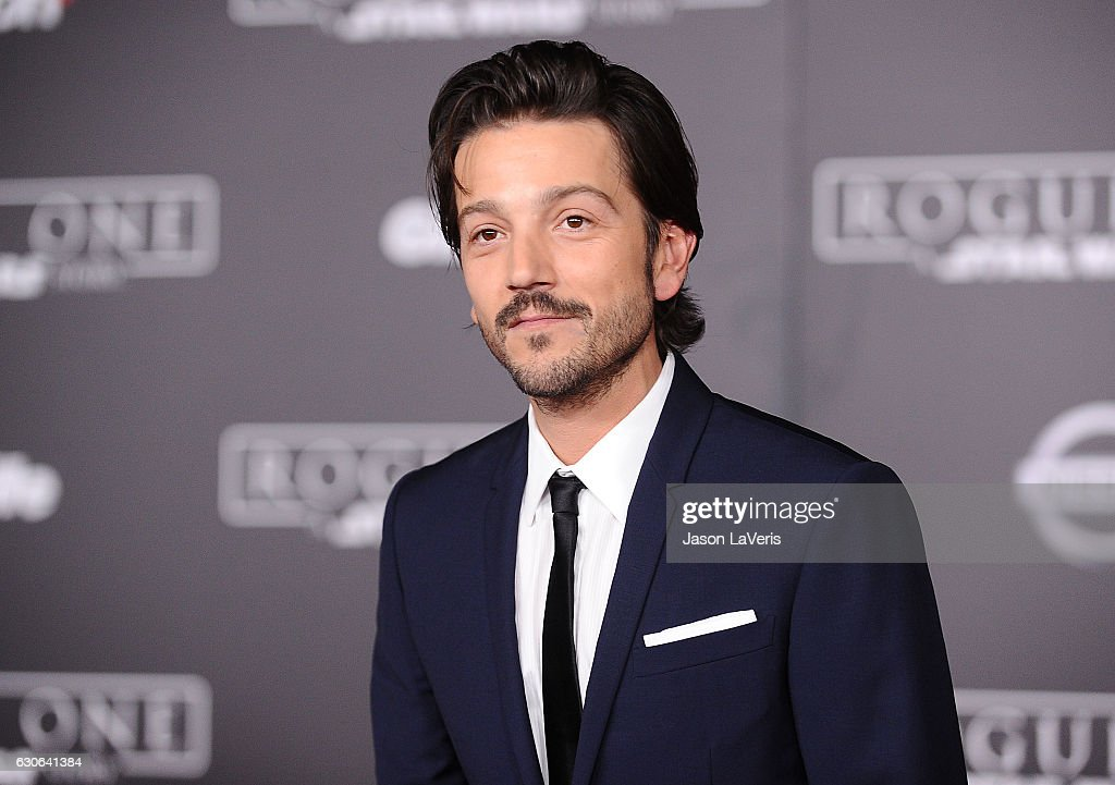 Actor Diego Luna attends the premiere of 'Rogue One: A Star Wars Story' at the Pantages Theatre on December 10, 2016 in Hollywood, California.