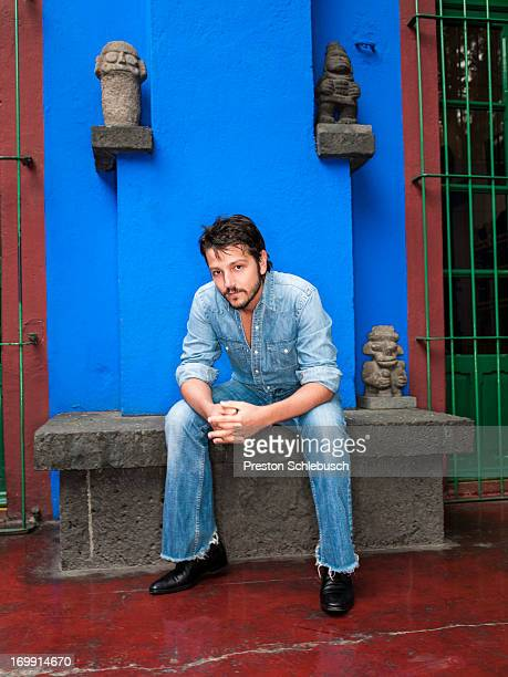 Actor Diego Luna is photographed for Conde Nast Traveler Spain on November 26 2009 in Mexico City Mexico
