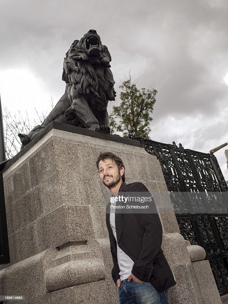 Diego Luna, Conde Nast Traveler- Spain, September 1, 2011 : News Photo