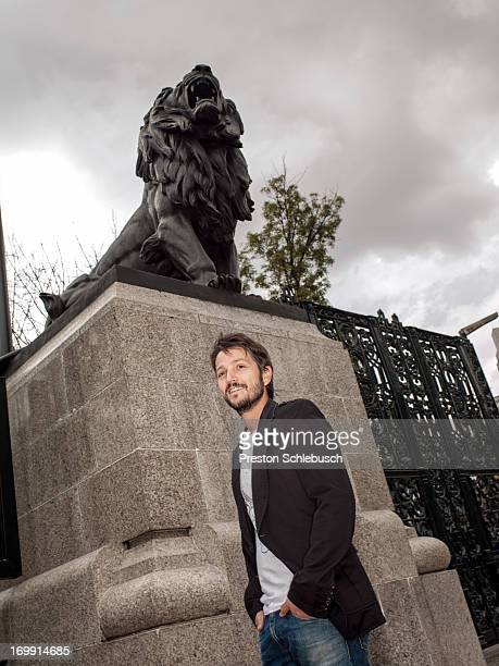 Actor Diego Luna is photographed for Conde Nast Traveler - Spain on November 26, 2009 in Mexico City, Mexico.