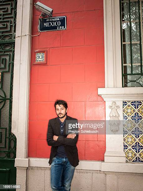Actor Diego Luna is photographed for Conde Nast Traveler - Spain on November 26, 2009 in Mexico City, Mexico. PUBLISHED IMAGE.