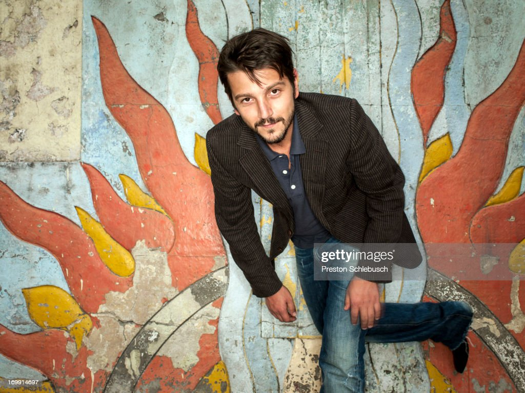 Diego Luna, Conde Nast Traveler- Spain, September 1, 2011 : News Photo