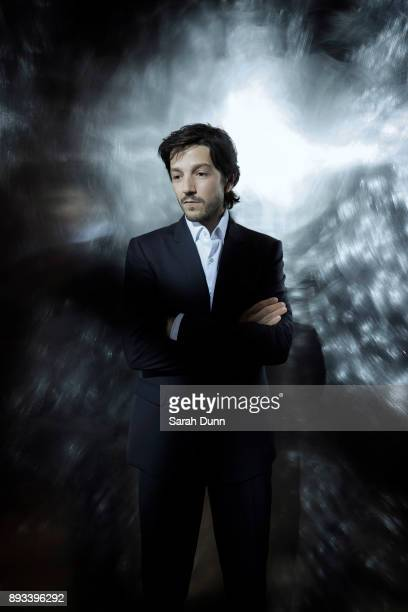Actor Diego Luna is photographed for Disney on July 15 2016 in Los Angeles California