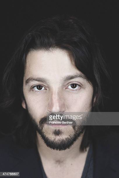 Actor Diego Luna is photographed for Self Assignment on February 12 2014 in Berlin Germany