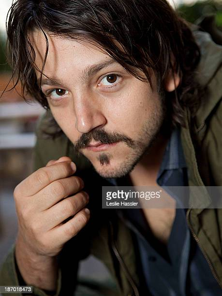 Actor Diego Luna is photographed for Self Assignment on October 9 2010 in New York City