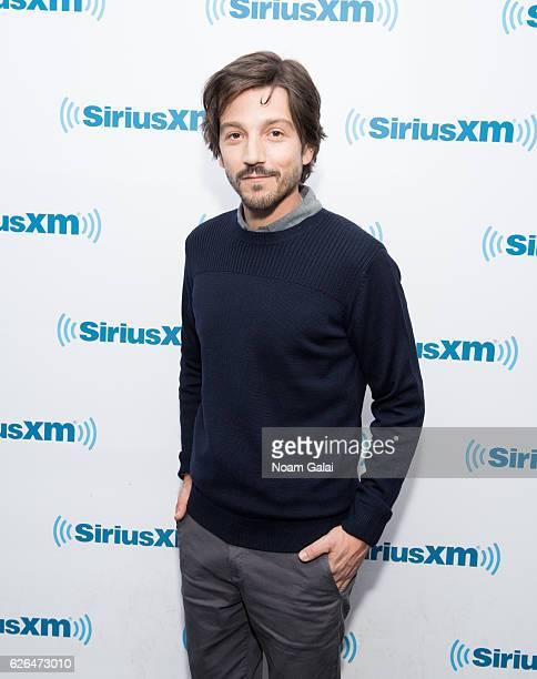 Actor Diego Luna visits the SiriusXM Studio on November 29 2016 in New York City