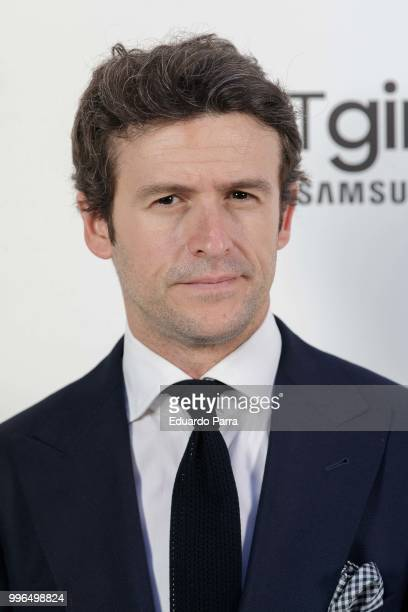 Actor Diego Martin attends the 'Jorge Vazquez afterparty' photocall at Ventura street on July 11 2018 in Madrid Spain