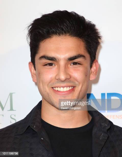 Actor Diego Tinoco attends Kind Los Angeles Coming Together for Children Alone at Helms Design Center on August 4 2018 in Culver City California