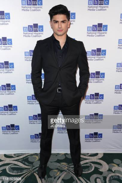 Actor Diego Tinoco attends the 22nd Annual National Hispanic Media Coalition Impact Awards Gala at Regent Beverly Wilshire Hotel on February 22, 2019...