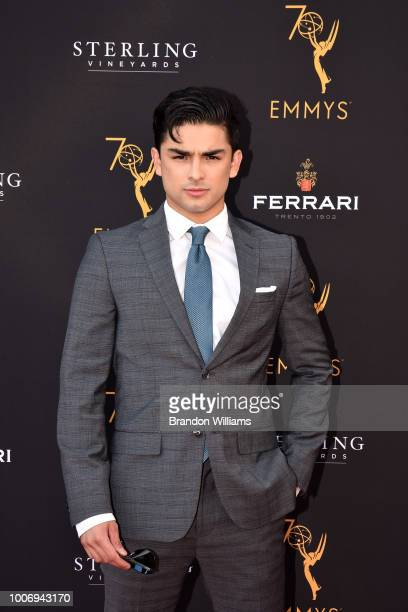 Actor Diego Tinoco attends the 70th Los Angeles Area Emmy Awards at Saban Media Center on July 28 2018 in North Hollywood California