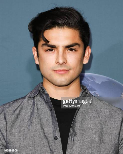 """Actor Diego Tinoco attends the """"Jurassic World-The Ride"""" grand opening celebration at Universal Studios Hollywood on July 22, 2019 in Universal City,..."""