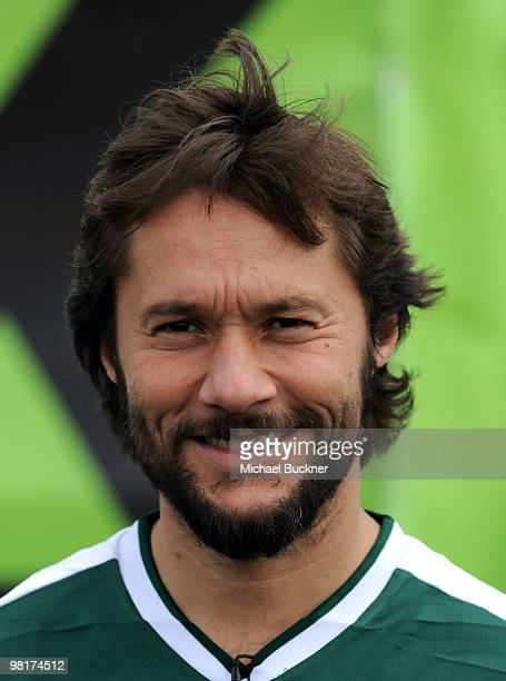 Actor Diego Torres attends MTV Tr3s's Rock N' Gol World Cup KickOff at the Home Depot Center on March 31 2010 in Carson California