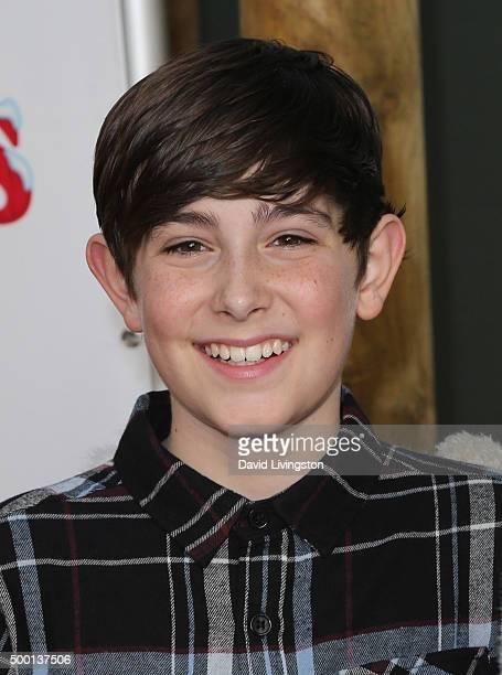 Actor Diego Velazquez attends Knott's Berry Farm's Countdown To Christmas And Snoopy's Merriest Tree Lighting at Knott's Berry Farm on December 5...