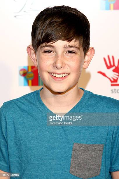 Actor Diego Velazquez attends the GBK Stop Attack Pre Kids Choice Gift Lounge at The Redbury Hotel on March 26 2015 in Hollywood California