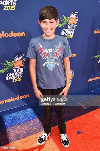 Actor Diego Velazquez attends the Nickelodeon Kids' Choice Sports Awards 2015 at UCLA's Pauley Pavilion on July 16 2015 in Westwood California