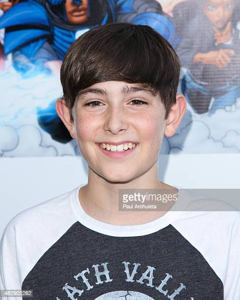Actor Diego Velazquez attends the premiere of 'Legend Of The Mantamaji' at Harmony Gold on August 3 2015 in Los Angeles California