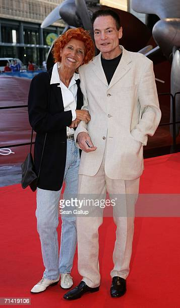 Actor Dieter Laser arrives at the German premiere of Poseidon July 11 2006 at the Berlinale Palast in Berlin Germany