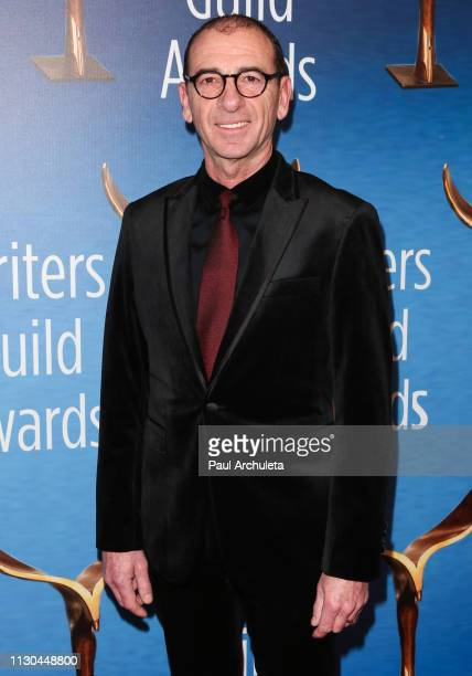 Actor Dimiter Marinov attends the 2019 Writers Guild Awards LA ceremony at The Beverly Hilton Hotel on February 17 2019 in Beverly Hills California