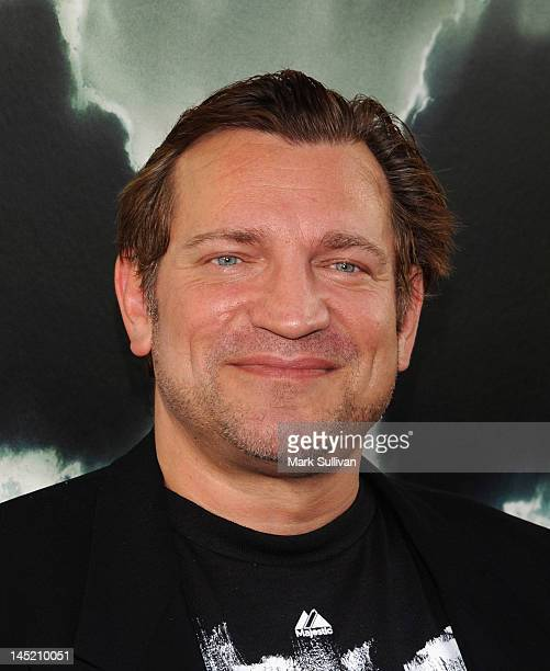 Actor Dimitri Diachenko attends Chernobyl Diaries special fan screening at ArcLight Cinemas Cinerama Dome on May 23 2012 in Hollywood California