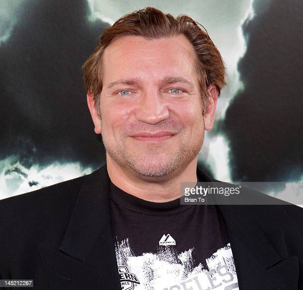 Actor Dimitri Diachenko attends the Los Angeles Premiere of Chernobyl Diaries at ArcLight Cinemas Cinerama Dome on May 23 2012 in Hollywood California