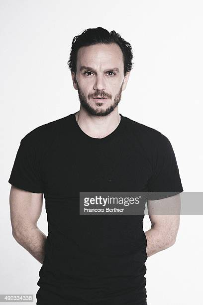 Actor Dimitri Storoge is photographed for Self Assignment on October 14, 2013 in Paris, France.