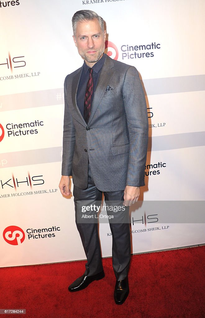 Actor Dino Antoniou at the Launch Of Cinematic Pictures Gallery held at Hollywood And Highland Center on October 21, 2016 in Los Angeles, California.