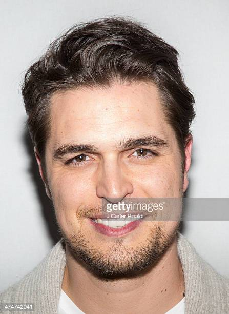 Actor Diogo Morgado attends Meet The Filmmakers at Apple Store Soho on February 24 2014 in New York City